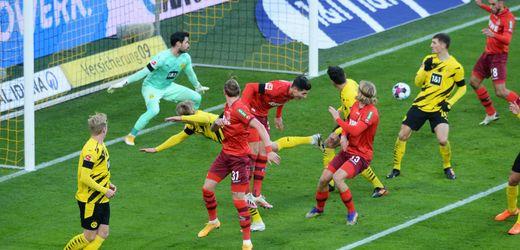 Fußball-Bundesliga: Borussia Dortmund verliert, Bayern München siegt