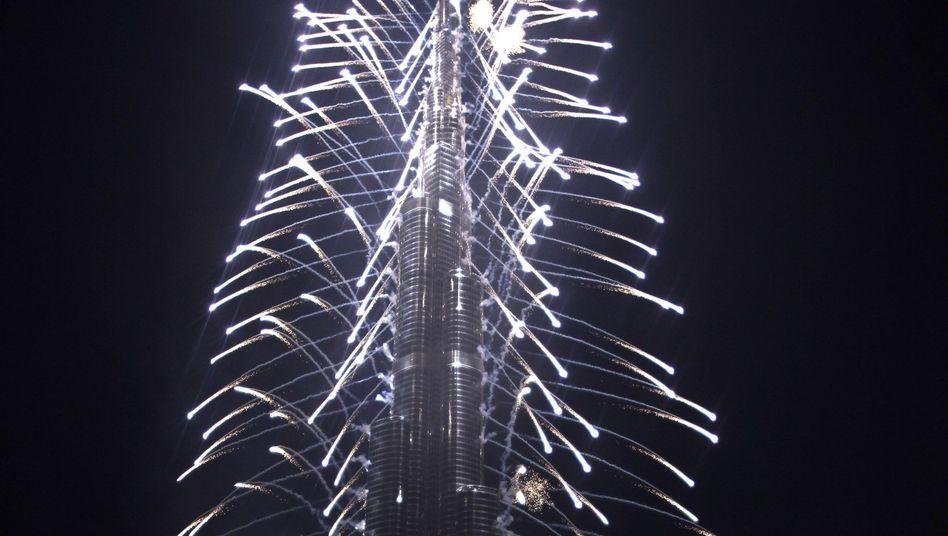 Wolkenkratzer Burj Chalifa: Dubai eröffnet Rekordturm mit Namens-Coup