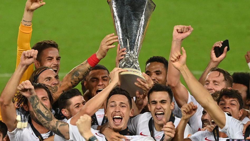 Sechstes Finale, sechster Sieg für Sevilla
