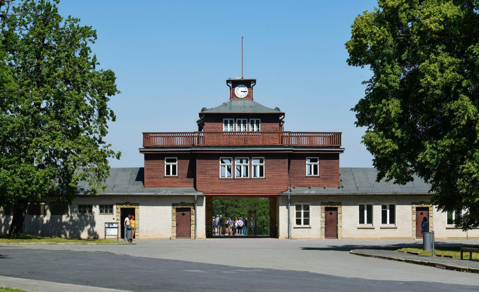 EINMALIGE VERWENDUNG Gedenkstätte Buchenwald