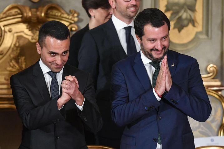Salvini und Luigi Di Maio