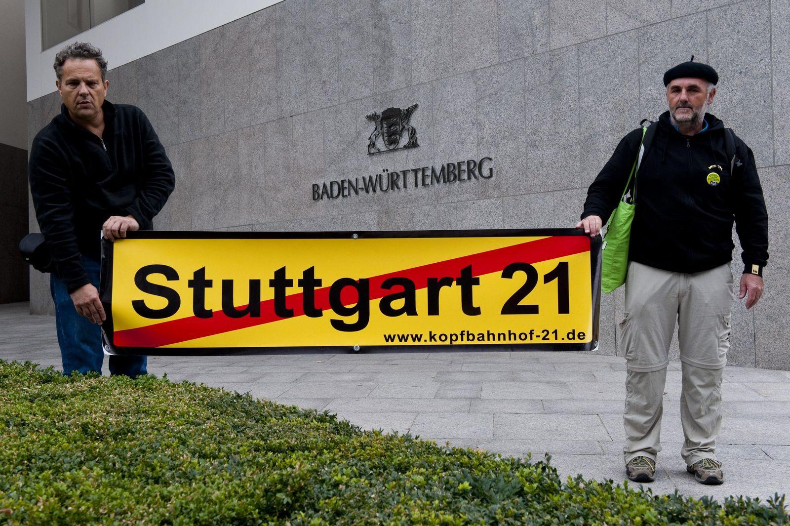 Stuttgart 21 - Protest