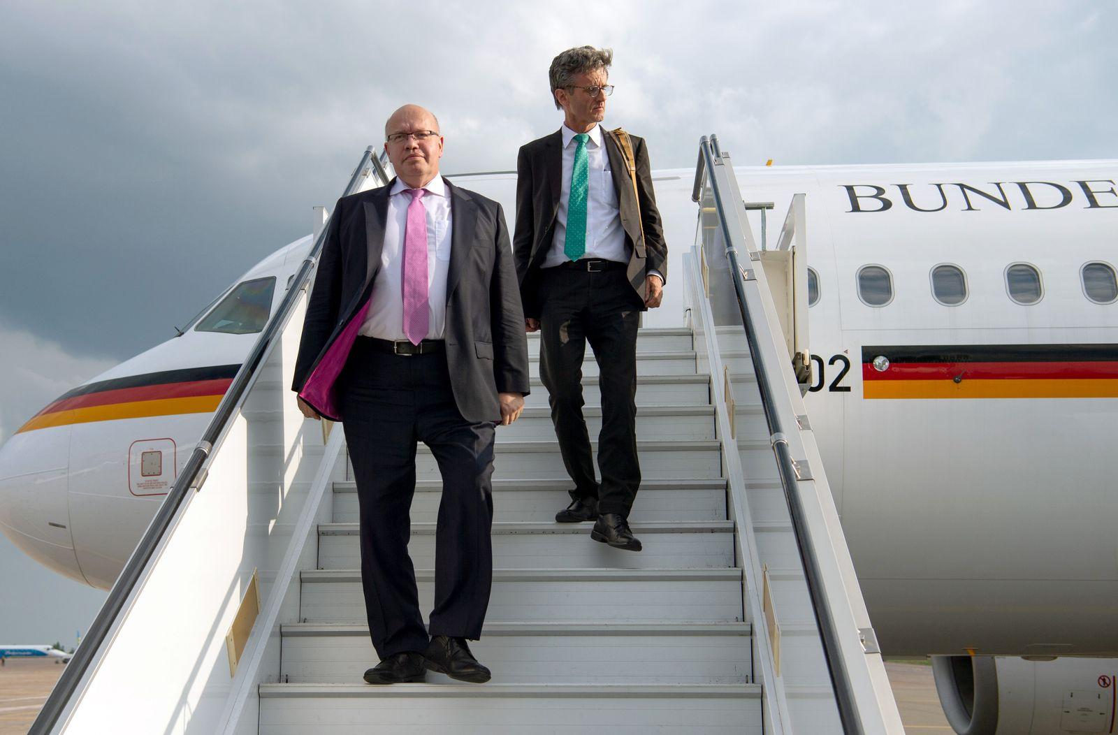 Altmaier/ Flugzeug