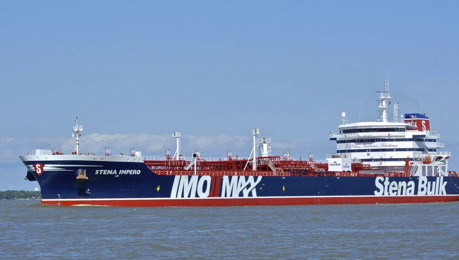 """Der britische Öltanker """"Stena Impero"""": London schließt einen Tanker-Tausch mit Iran aus"""