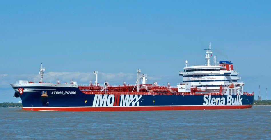 """Festgesetzter britischer Tanker """"Stena Impero"""" (Archivbild)"""