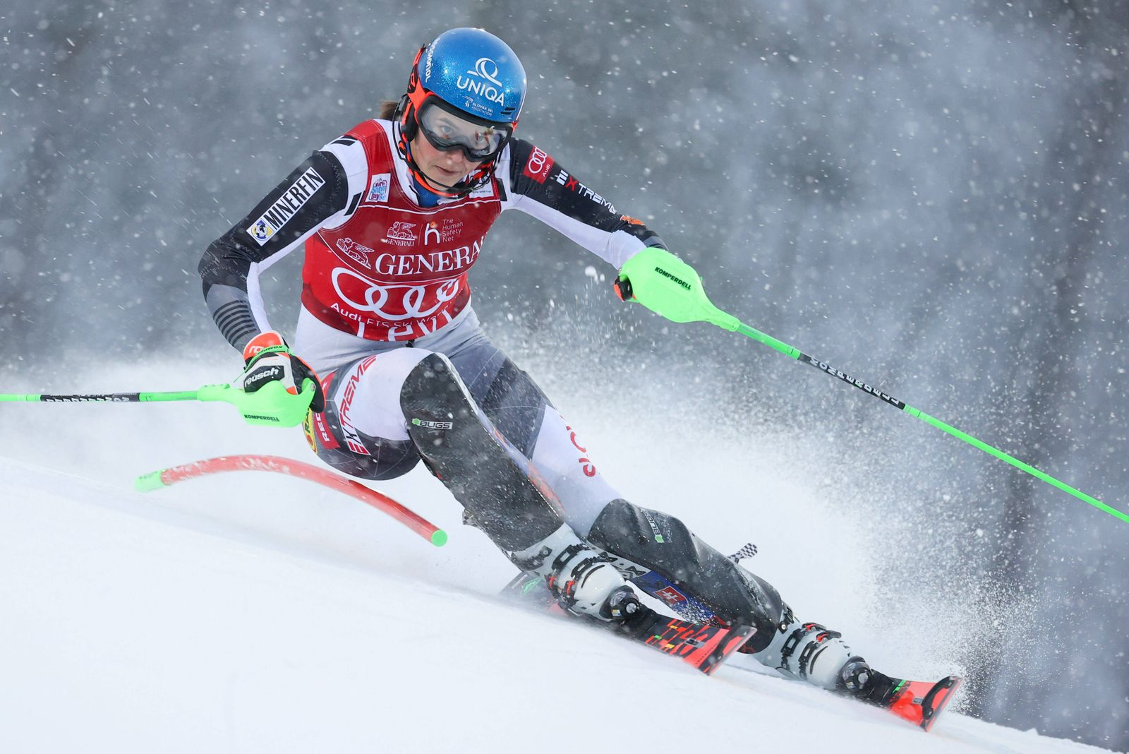 ALPINE SKIING - FIS WC Levi LEVI,FINLAND,22.NOV.20 - ALPINE SKIING - FIS World Cup, slalom, ladies. Image shows Petra V