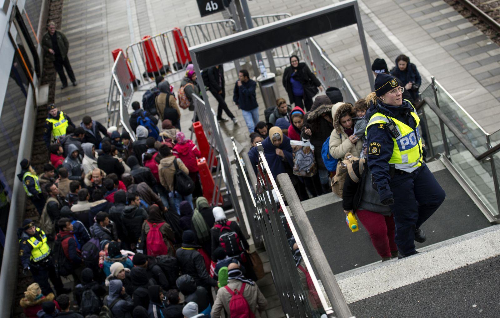 Schweden Asylanten