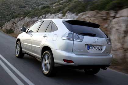 Lexus RX 400h: Nur das Typschild weist auf den Hightech-Inhalt hin