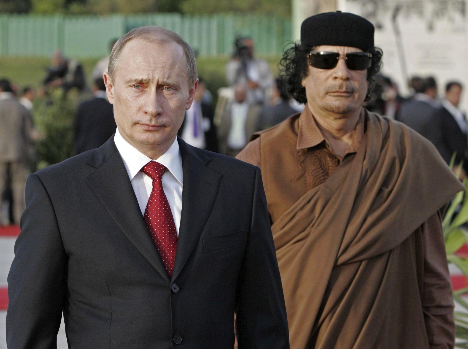 Gaddafi/Putin