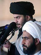 Muktada al-Sadr: Krawalle in seiner Hochburg