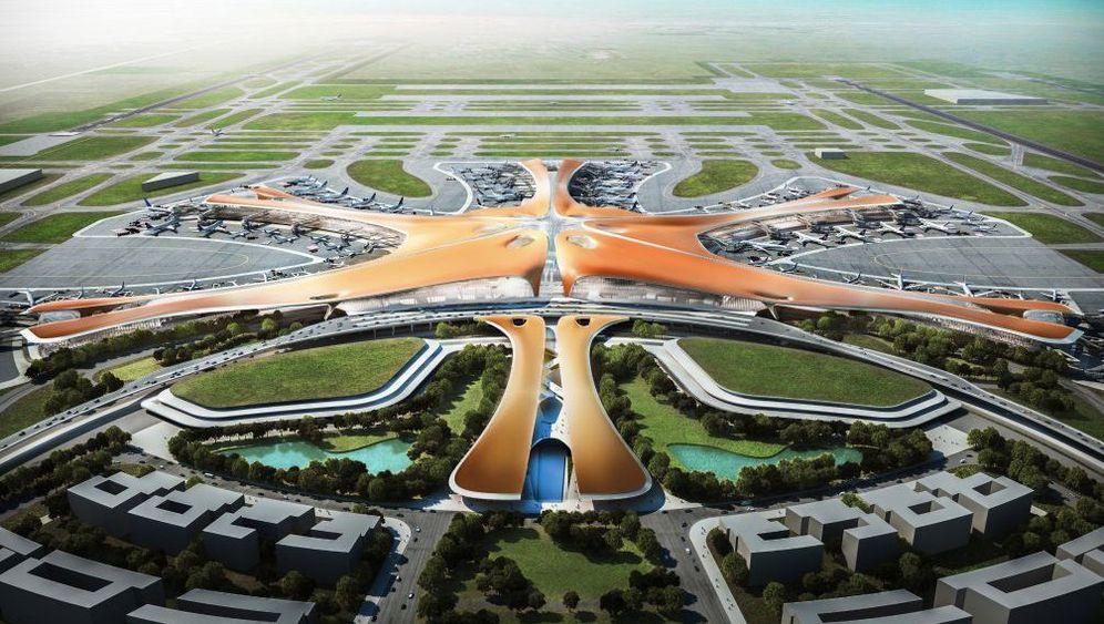 Pekings neuer Flughafen: Zaha Hadid zeigt Entwürfe