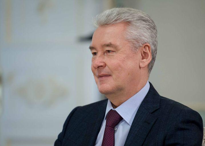 Der Putin-Vertraute und Bürgermeister der Stadt Moskau: Sergej Sobjanin