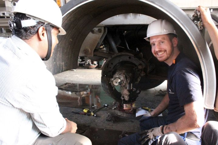 War als Ingenieur in Indien: Alexander Ley
