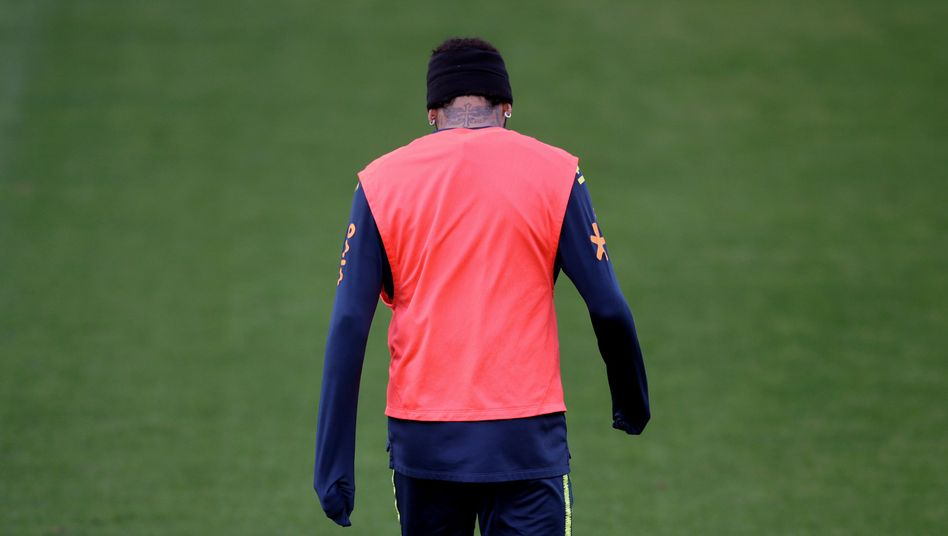 Neymar im Trainingslager vor der Copa América