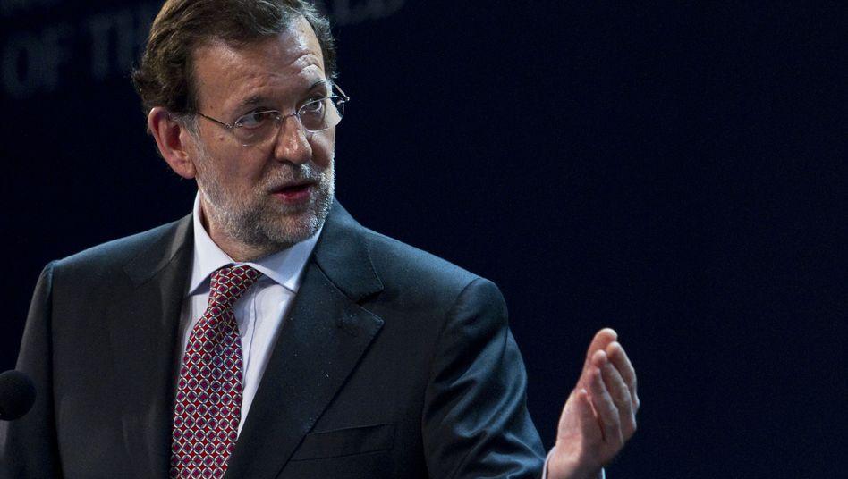 Spaniens Ministerpräsident Mariano Rajoy: Schnelle Hilfen nötig