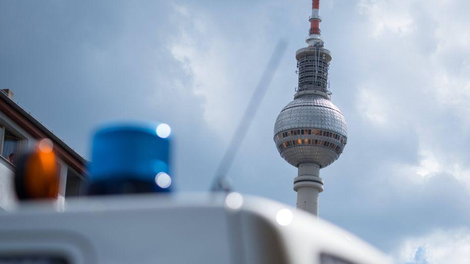 Polizei in Berlin: Mehr als 20 Prozent weniger Straftaten registriert als im Vorjahreszeitraum