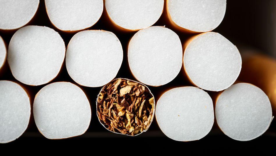 Ein Päckchen Zigaretten