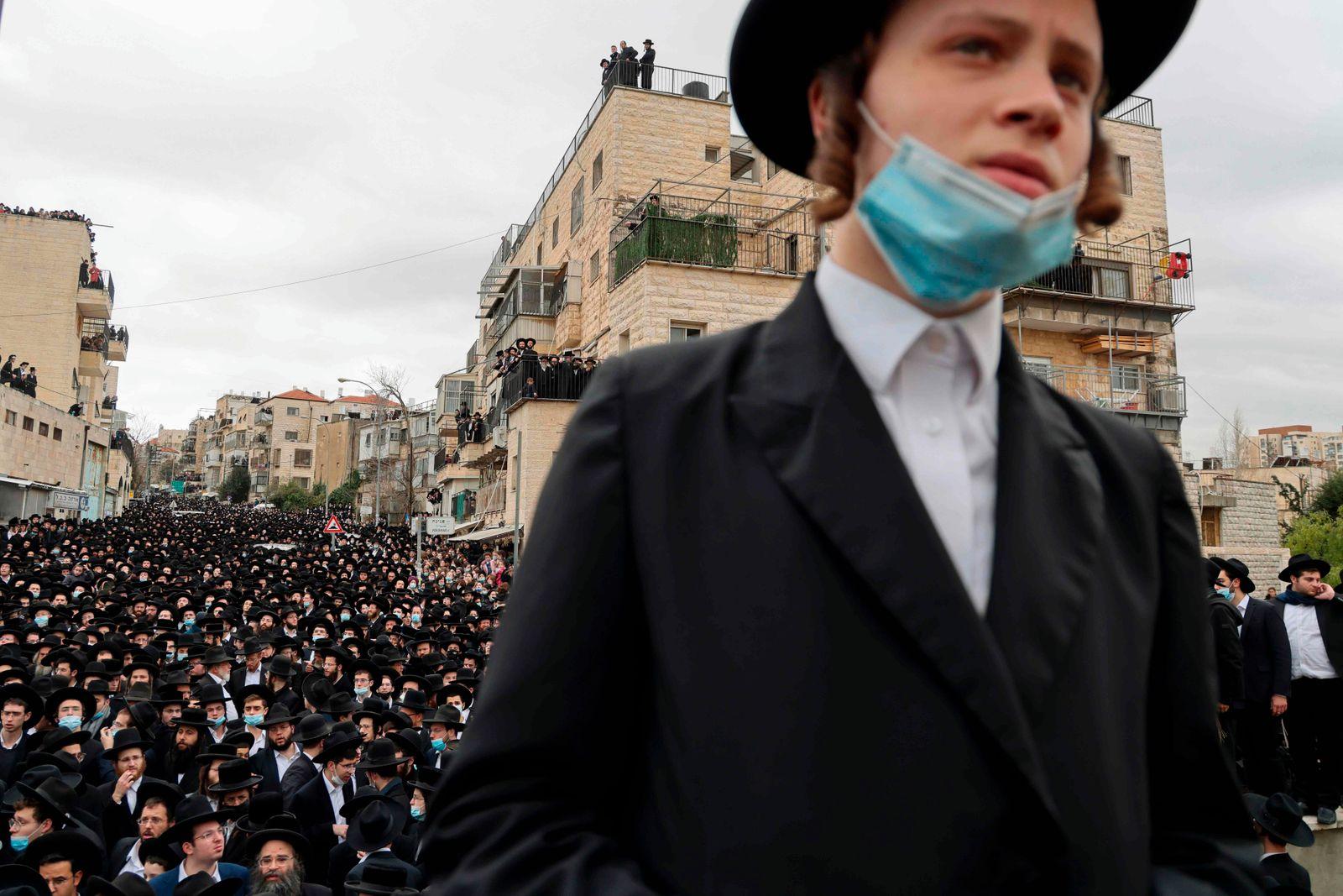 ISRAEL-HEALTH-VIRUS-RABBI-DEATH