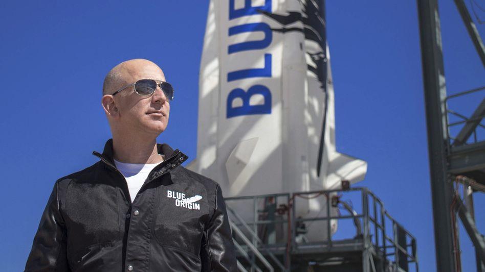 Weltraum-Unternehmer Bezos: