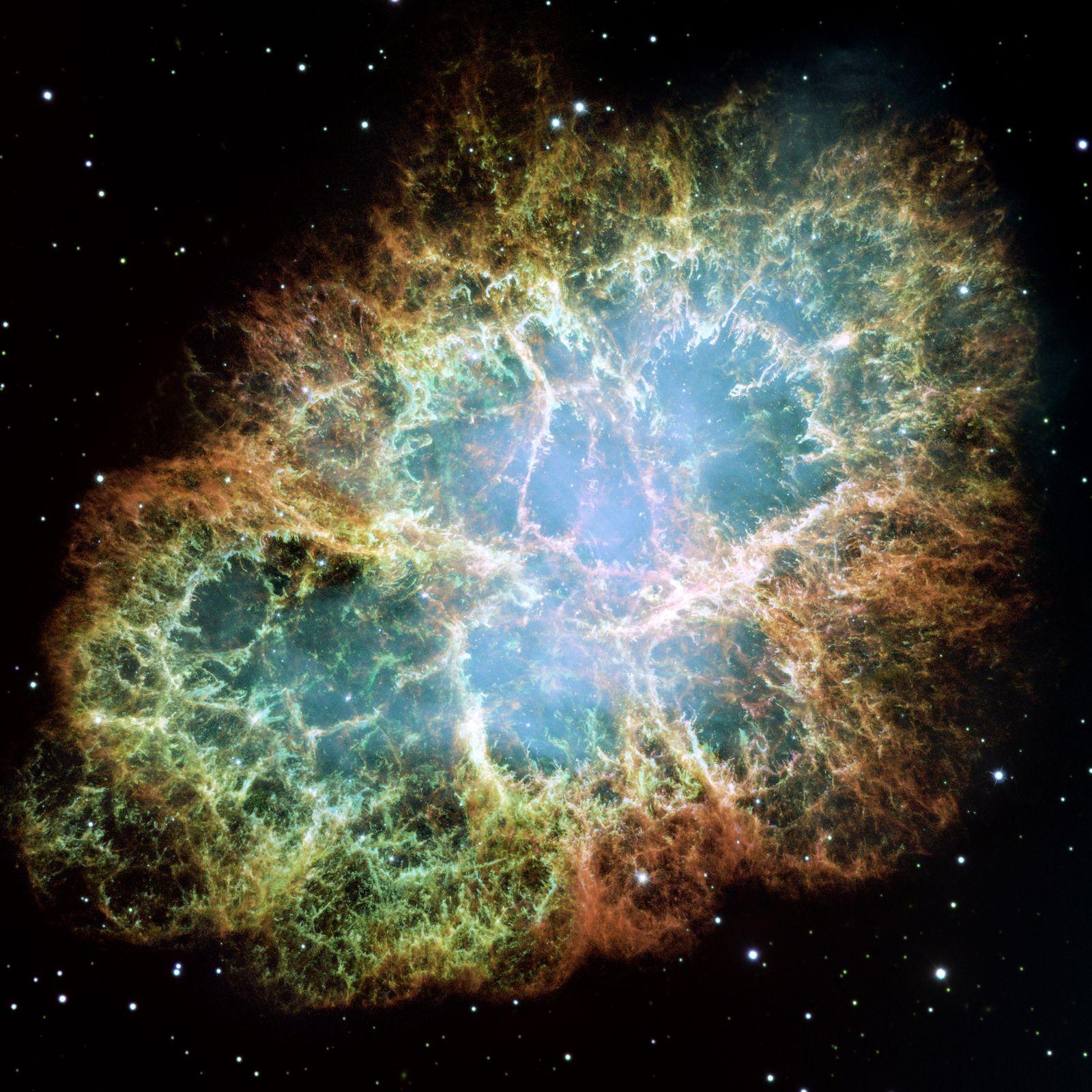 Supernova-Explosionswolke