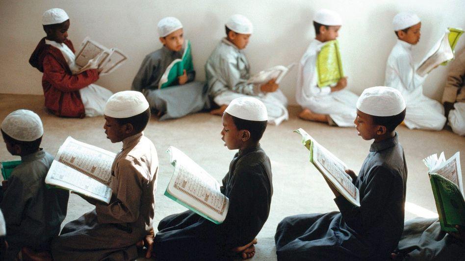 Koranschüler in Medina