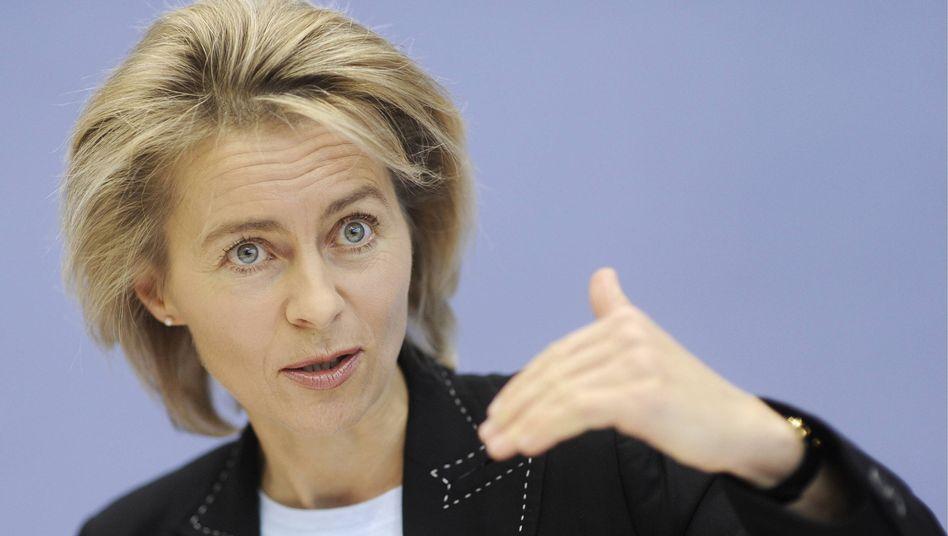 Arbeitsministerin von der Leyen (CDU):
