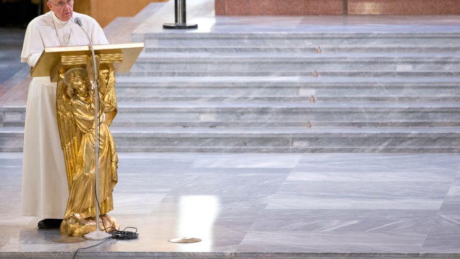 """Der Papst und die Mafia: """"Ihr endet in der Hölle"""""""