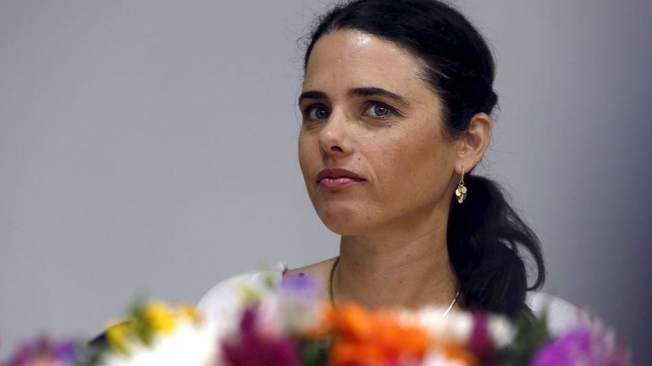 """Ayelet Shaked, israelische Justizministerin: """"Werden keinen Selbstmord begehen"""""""