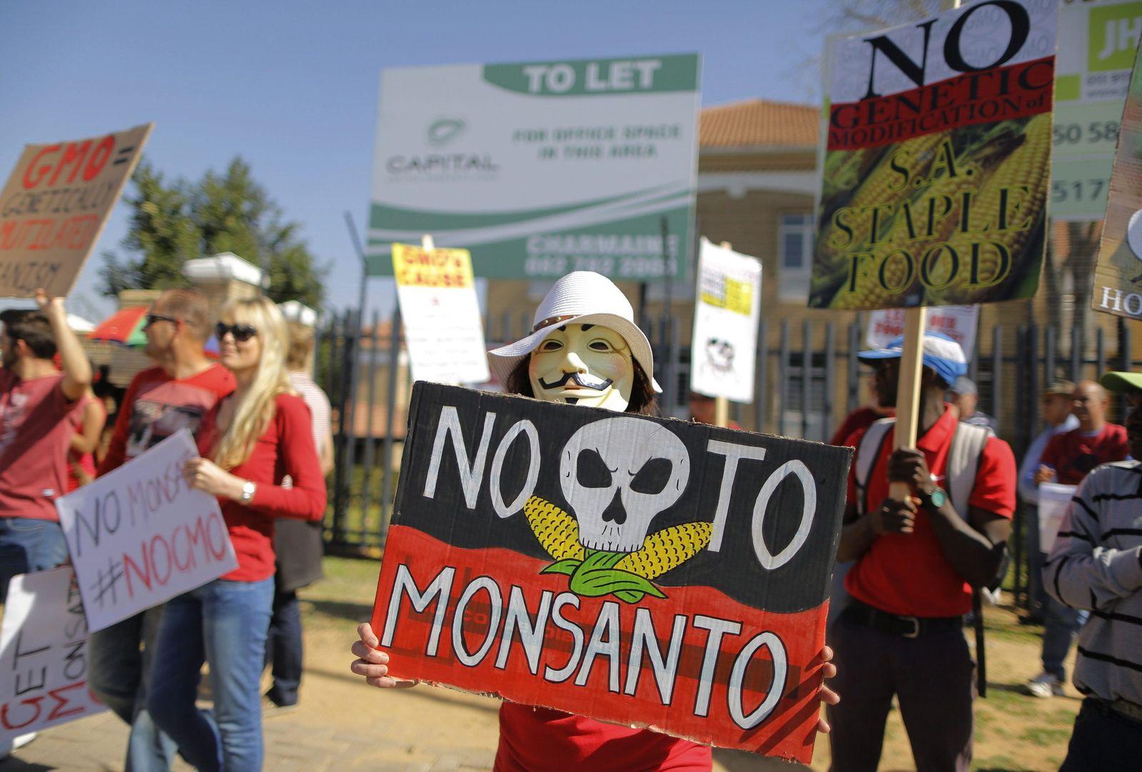 Demo gegen Monsanto