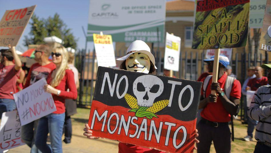 Protest gegen Monsanto: Lobbyarbeit für Genfood soll gestoppt werden