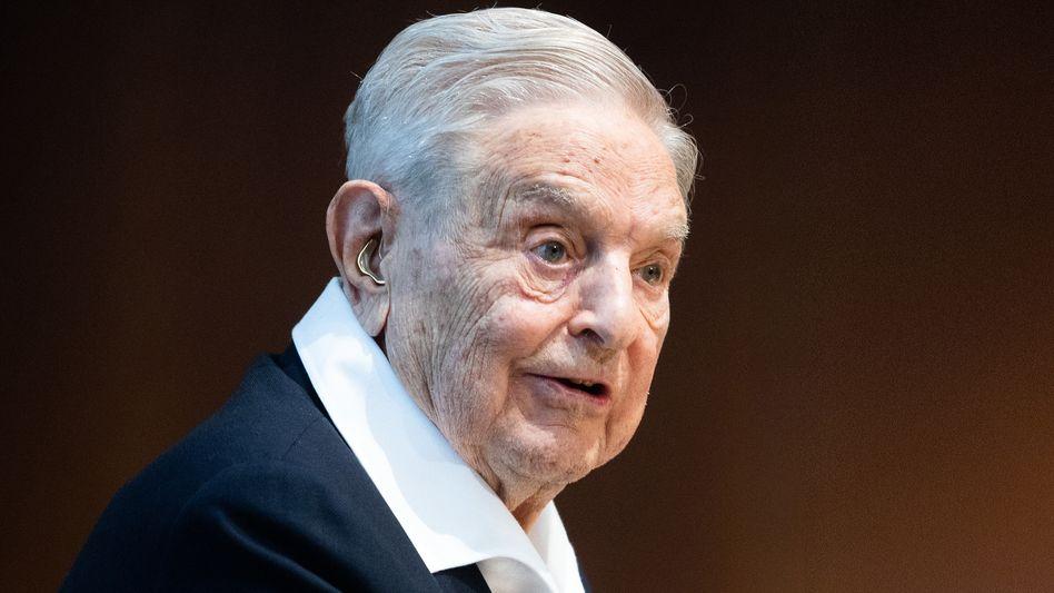 US-Milliardär und Philanthrop George Soros