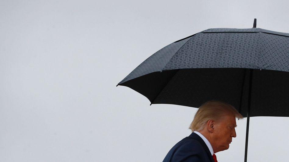 Donald Trump (am 31. Juli 2020): Die Wahl rückt näher - und die Umfragen sind deutlich