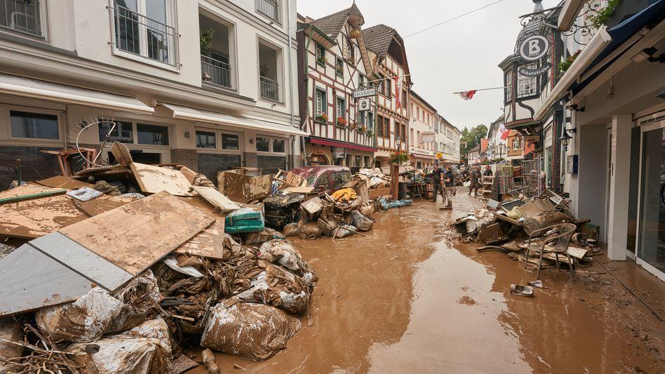 Flutschäden in Bad Neuenahr-Ahrweiler
