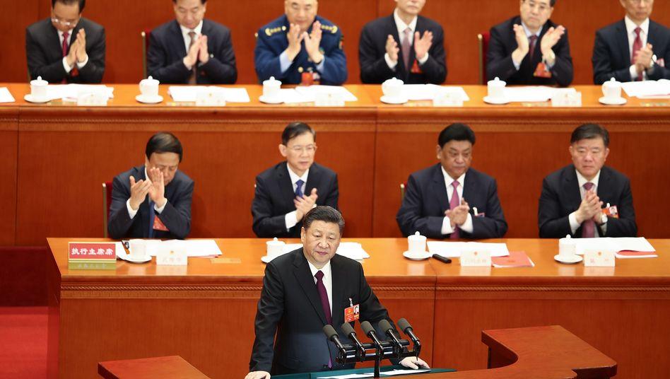 Staats- und Parteichef Xi Jinping