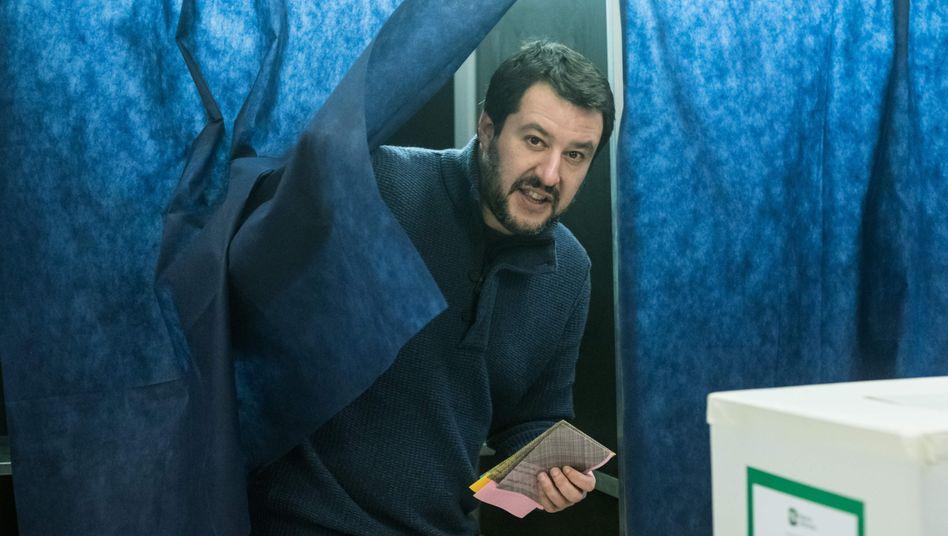 Lega-Nord-Politiker Matteo Salvini
