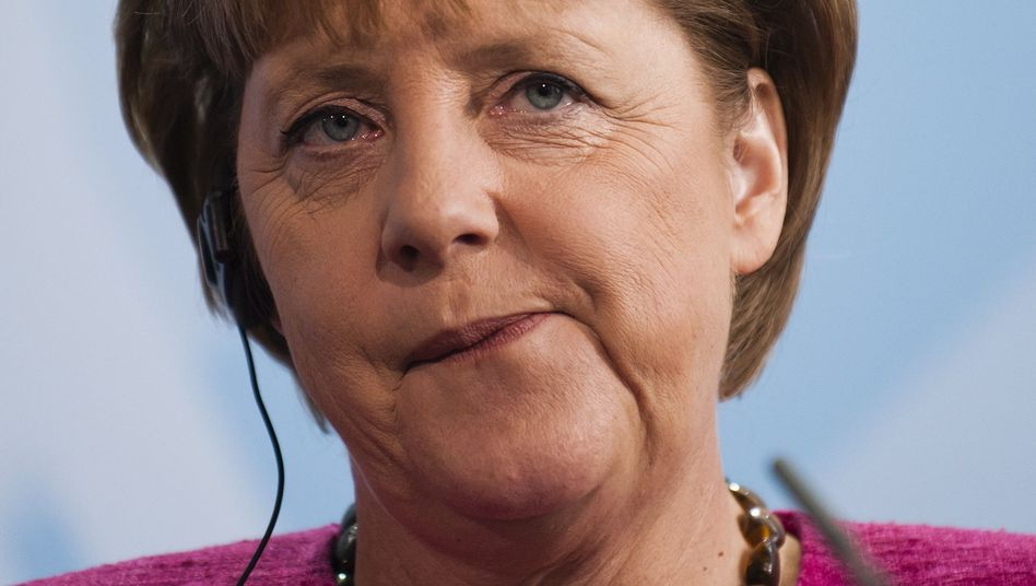 Chancellor Merkel's reaction to Osama bin Laden's death has proven unpopular.