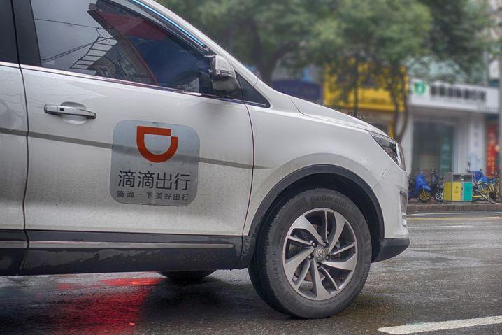 Die Mobilitätsplattform Didi-Chuxing bietet auch Carsharing-Autos an