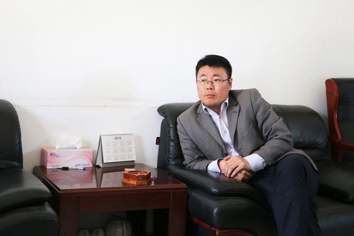 Baustellenleiter Chen Yu