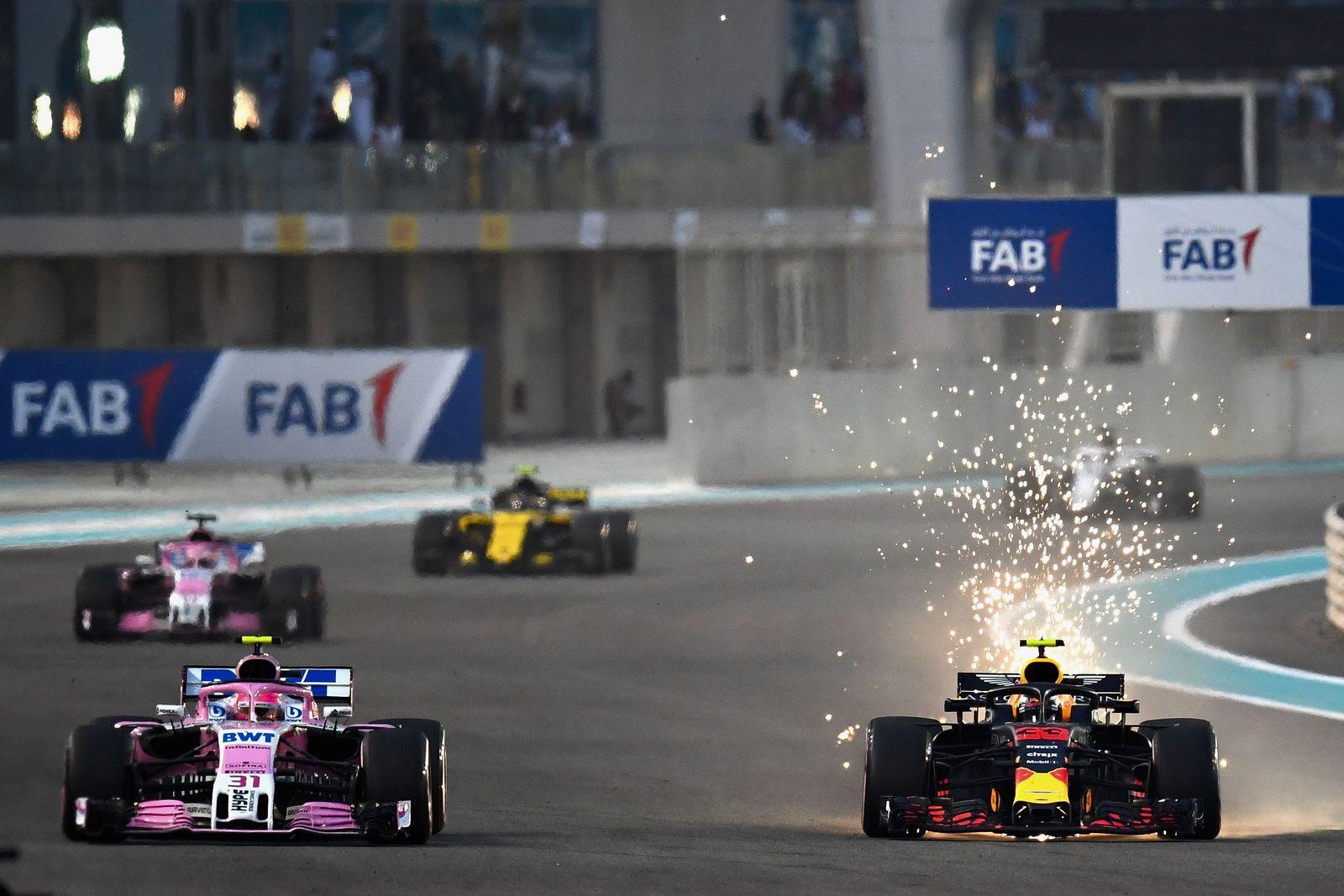 Formel 1 Verstappen Ocon