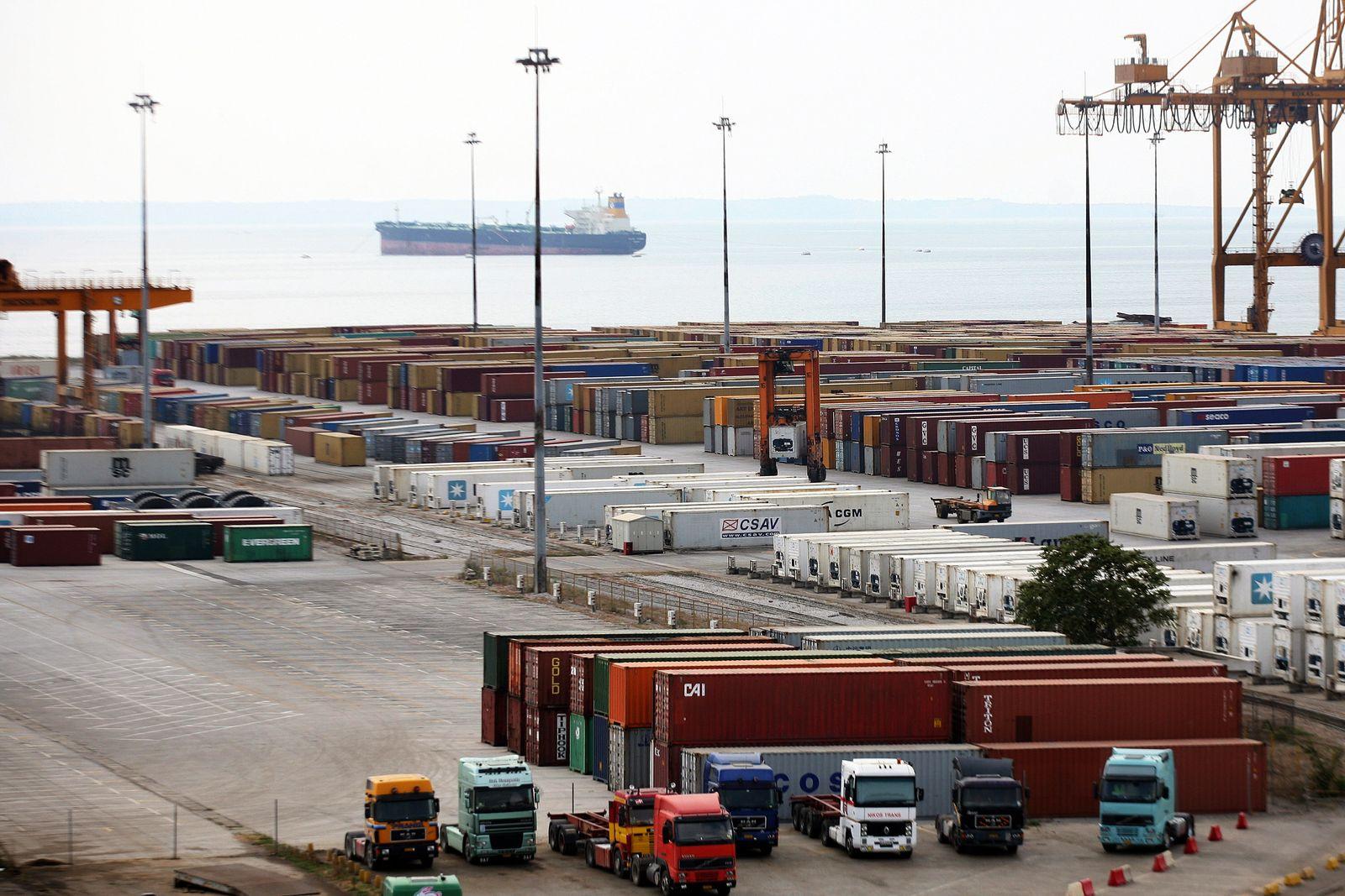 Hafen von Thessaloniki