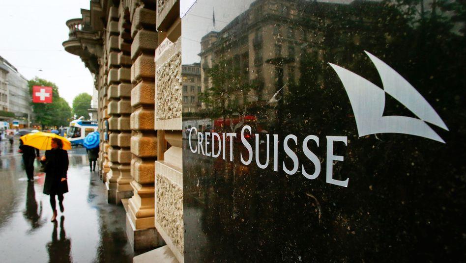 Hauptsitz der Credit Suisse in Zürich