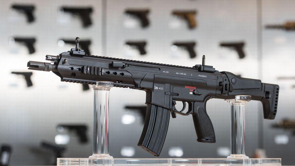 Sturmgewehr HK 433 aus deutscher Produktion