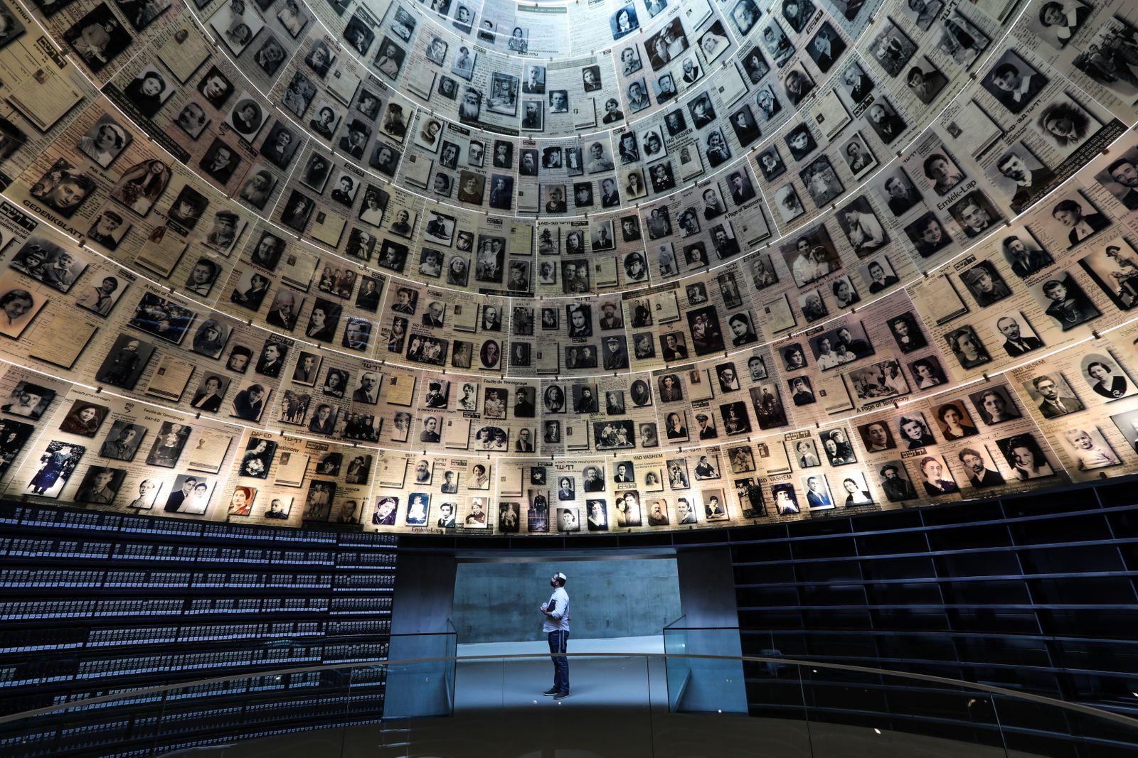 Yad Vashem Holocaust Memorial museum in Jerusalem