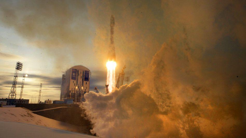 Raketenstart in Wostotschny am 28. November