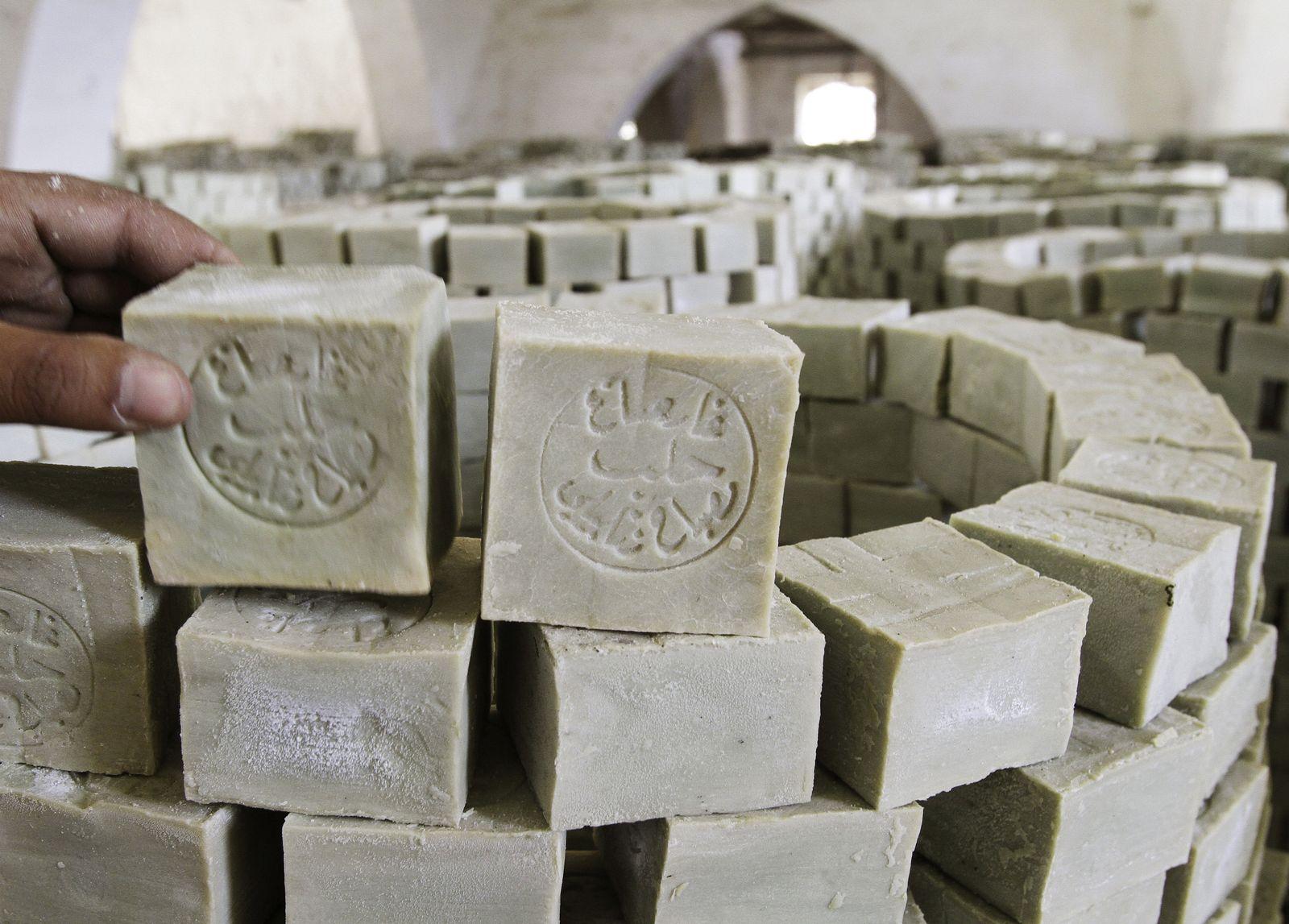 Syrien / Aleppo / Seife / Seifenproduktion