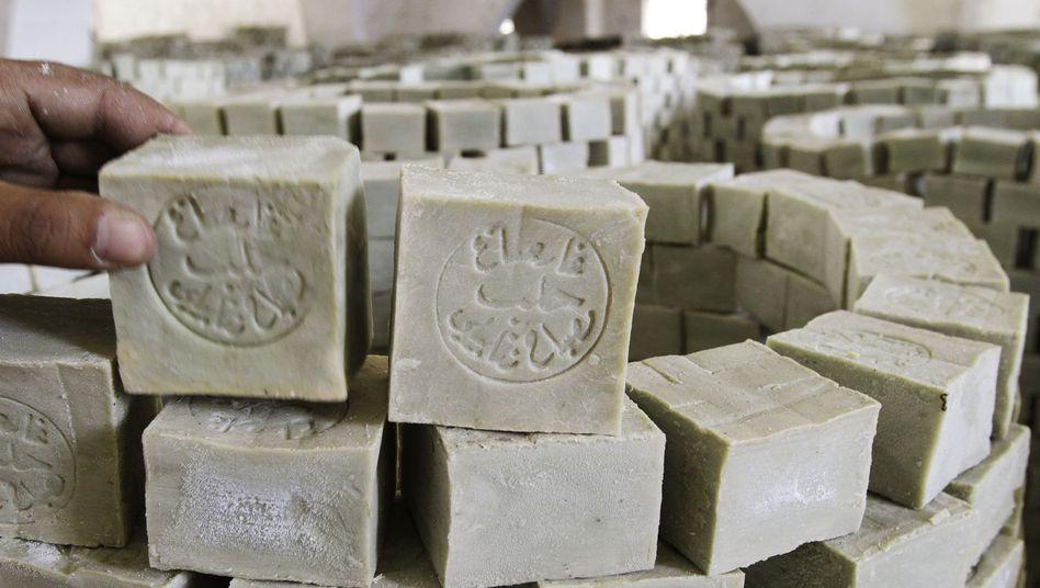 Bio-Seife aus Aleppo: Trotz des Bürgerkriegs läuft der Handel weiter