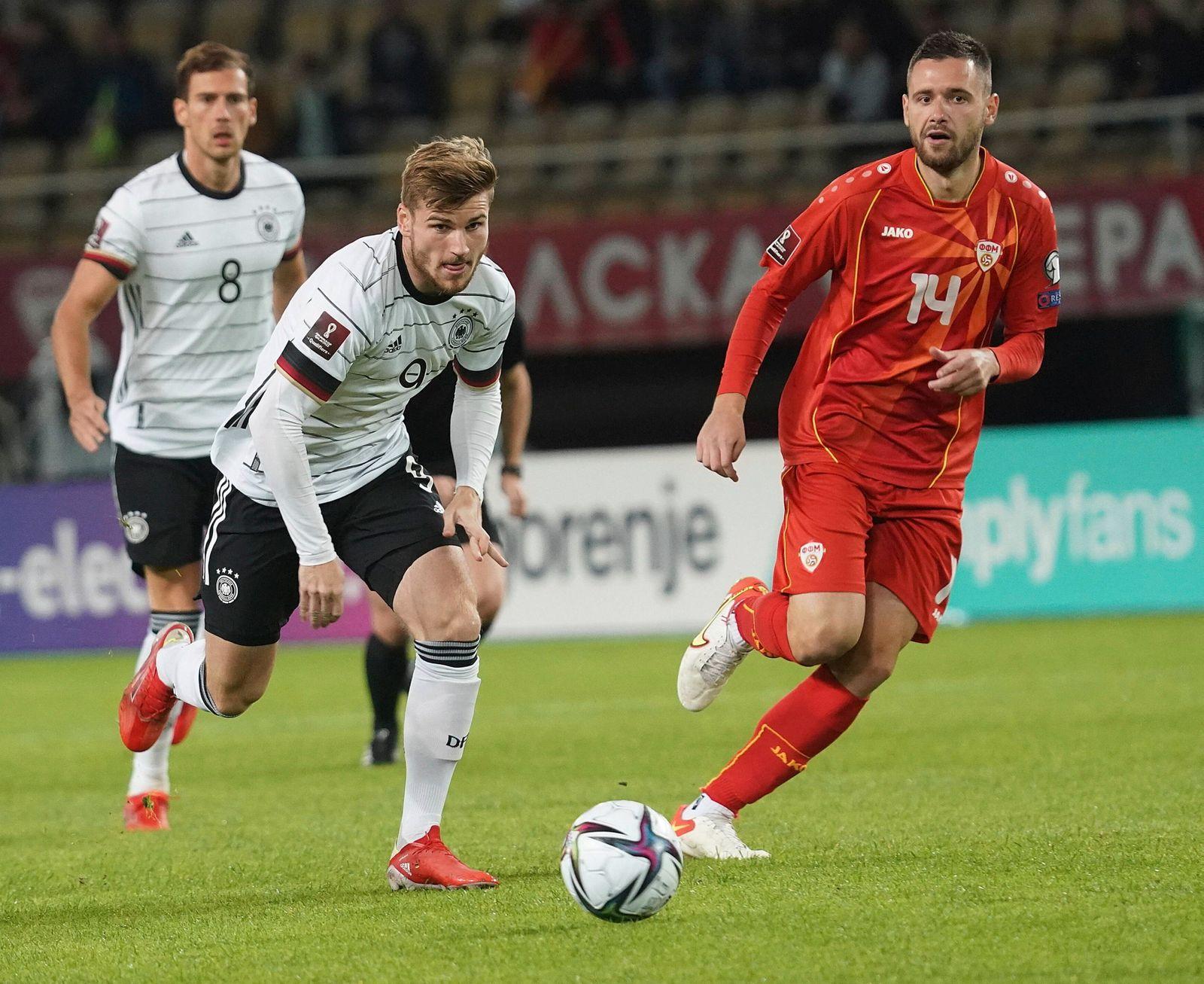 MKD, WM Qualifikation, Nordmazedonien vs Deutschland / 11.10.2021, Toshe Proeski Arena, Skopje, MKD, WM Qualifikation,