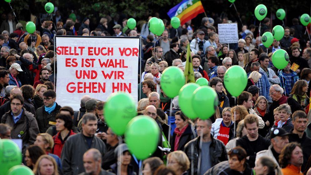 Protest gegen Stuttgart 21: Drohungen und hohe Zäune