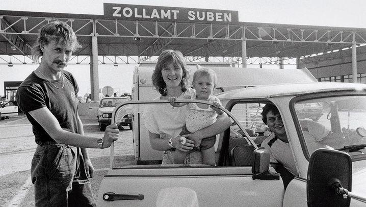 Budapest-Berlin: Deutsche auf der Flucht - Daniel Biskups Fotos von 1989
