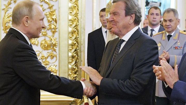 Schröder und Putin: Ein Freund, ein deutscher Freund